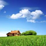 清洗新环境的房子 库存图片