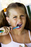 清洗牙 免版税库存图片