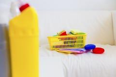 清洗的设备 库存图片