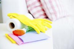 清洗的设备 免版税库存照片