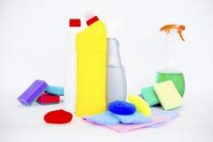 清洗的设备 免版税库存图片