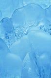 清洗详细资料形成冰自然厚实 免版税库存照片