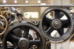 清洗齿轮和嵌齿轮 库存照片
