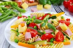清淡的健康五颜六色的开胃小菜沙拉,特写镜头 免版税库存图片