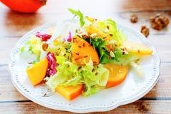 清淡的新鲜的沙拉用芒果 库存照片