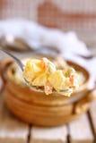 清淡的自创土豆沙拉 免版税库存图片