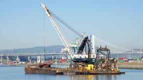清疏由奥克兰港的杜特拉DB 24  免版税图库摄影