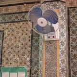 清真寺内部的看法 库存图片
