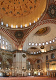 清真寺内部 库存图片