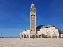 清真寺哈桑2 卡萨布兰卡 图库摄影
