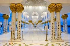 清真寺回教族长zayed 图库摄影
