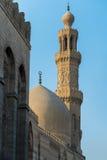清真寺圆顶和尖塔 免版税库存照片