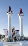 清真寺在从俄国的乌法 库存图片