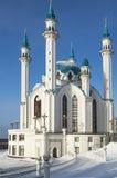 清真寺在从俄国的喀山 库存图片