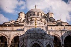 清真寺在伊斯坦布尔土耳其 库存图片