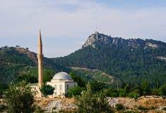 清真寺在凯梅尔在安塔利亚 库存图片