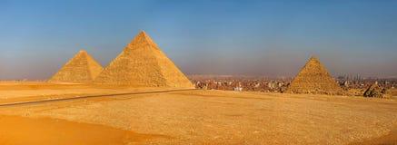 清真寺在埃及风景开罗市 免版税库存照片