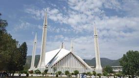 清真寺在巴基斯坦 免版税库存照片