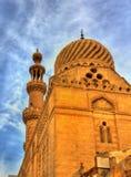 清真寺在开罗的历史的中心 免版税库存图片