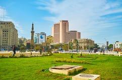 清真寺在开罗Downown,埃及 库存图片