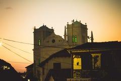清真寺在斯里兰卡 库存图片