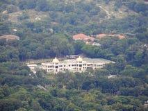 清真寺在森林里 库存图片