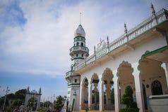 清真寺在越南南方 免版税库存图片