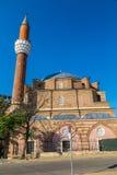 清真寺在索非亚,保加利亚 免版税库存图片