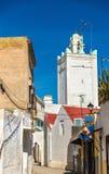 清真寺在Azemmour镇,摩洛哥 免版税库存图片