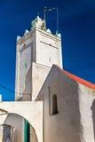 清真寺在Azemmour镇,摩洛哥 库存照片