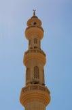 清真寺在Hurgada,埃及 库存照片