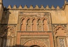 清真寺大教堂在科多巴,西班牙 库存图片
