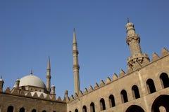 清真寺尖塔在开罗,埃及 库存照片