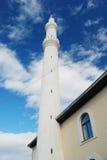 清真寺尖塔在马其顿 库存图片