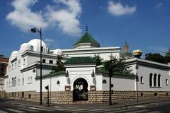 清真寺巴黎 免版税库存照片