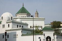 清真寺巴黎 免版税图库摄影