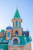 清真寺是建筑复合体的一部分 库存图片