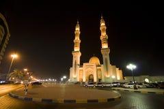 清真寺晚上 库存照片