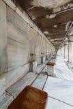 清真寺洗净液设施伊斯坦布尔土耳其 免版税库存图片