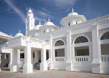 清真寺白色 免版税库存照片