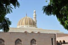 清真寺的圆顶和尖塔 免版税库存照片