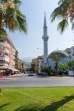 清真寺的大厦 免版税库存照片