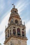 清真寺的钟楼 免版税图库摄影