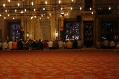 清真寺祈祷 免版税库存照片