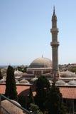 清真寺老罗得斯 库存照片