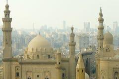 清真寺苏丹哈桑-开罗-埃及Madrassa  库存照片