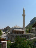清真寺莫斯塔尔 免版税库存图片