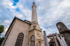 清真寺萨拉热窝 免版税库存照片