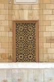 清真寺视窗 库存照片