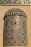 清真寺详细资料在多哈 免版税库存照片